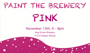 Paint the Brewery Pink